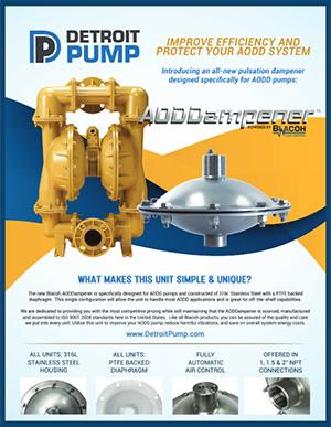 Detroit Pump BLACOH AODDAMPENER pdf