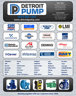 Detroit Pump Line Card Brochure pdf