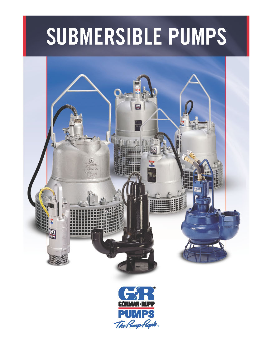 Gorman-Rupp SUBMERSIBLE PUMPS brochure pdf