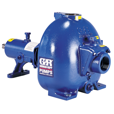 Gorman-Rupp SELF-PRIMING SOLIDS-HANDLING PUMPS 80 Series