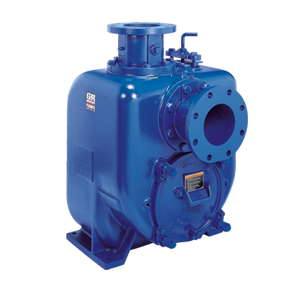 Gorman-Rupp SELF-PRIMING SOLIDS-HANDLING PUMPS Super U Series