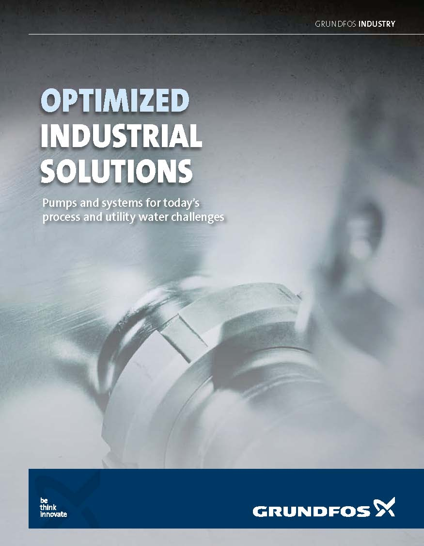 GRUNDFOS Optimized Industrial Pump Solutions BROCHURE pdf