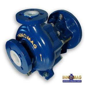 U-Mag Series Flowserve Innomag Sealless Pump brochure pdf