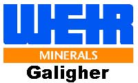 Weir Minerals Galigher Slurry pumps logo