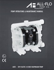 All-Flo A025 SPX Plastic Diaphragm Detroit Pump pdf