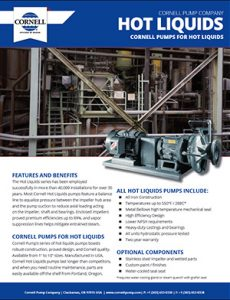 Cornell Hot Oil Pump Detroit Pump pdf