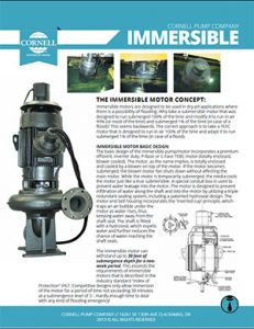 Cornell Immersible Pumps Detroit Pump pdf