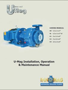 Flowserve Innomag Advanced Sealless pumps Umag Manual Detroit Pump pdf