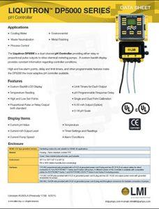 LMI DP5000 pH Controller brochure Detroit Pump pdf