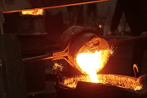 Steel Manufacturing pumps