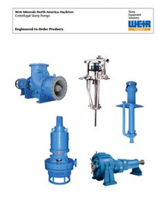 Weir Centrifugal Slurry Pumps Detroit Pump pdf