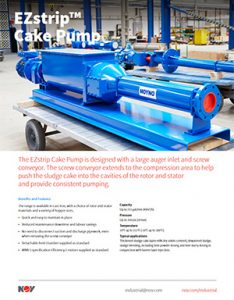 EZstrip Cake Pump Nov Moyno Detroit Pump