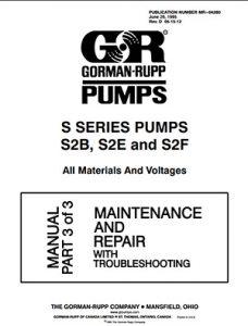 Gorman-Rupp S Series Slim Maintenance brochure pdf Detroit Pump