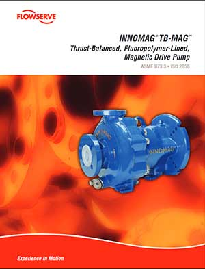 Flowserve Innomag Sealless Pump brochure pdf