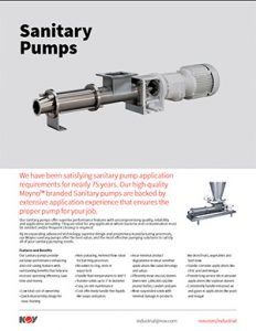 Sanitary Pumps Nov Moyno Flyer Detroit Pump
