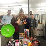 Detroit Pump donates Toys for Tots