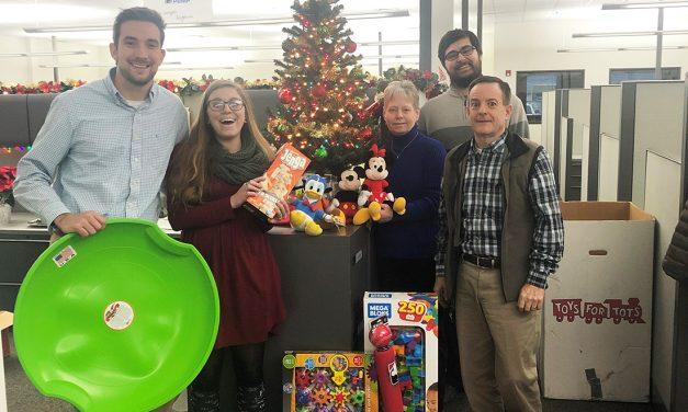 Detroit Pump donates Toys for Tots
