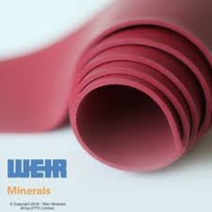 Weir Minerals Linatex Rubber Sheets