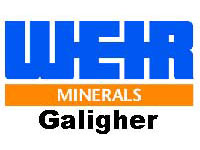 Weir Minerals Galigher pump logo