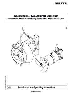 ABS RW IOM Manual Sulzer Pump