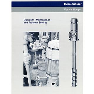Vertical Pumps IOM Byron Jackson Pumps